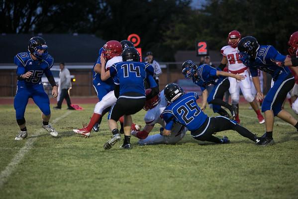 Football vs Grandfalls Sept 12 2014
