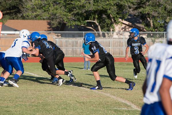 Trinity-Middle School Football - Oct 2014